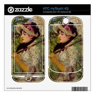 Jeanne by Edouard Manet Decal For HTC myTouch 4G