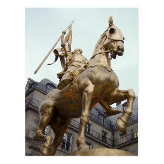 Jeanne d'Arc Postcard