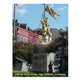 Jeanne d'Arc New Orleans Postcard