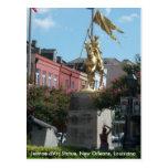 Jeanne D'Arc New Orleans Tarjeta Postal