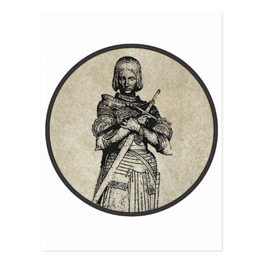Jeanne D'Arc Postales
