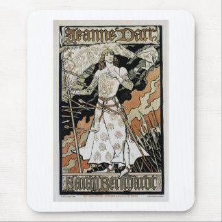 Jeanne d'Arc ~ Sarah Bernhardt Mouse Pad