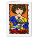 Jeanne d'Arc Stationery Note Card