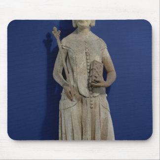 Jeanne de Bourbon  1365-80 Mouse Pad