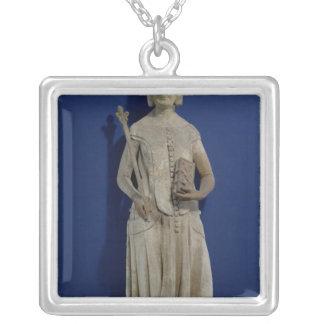 Jeanne de Bourbon  1365-80 Square Pendant Necklace