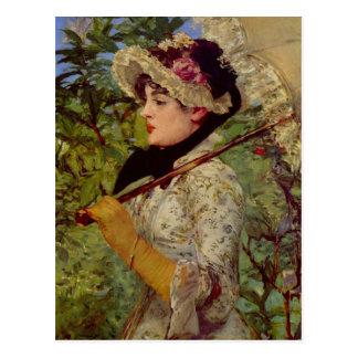 Jeanne de Eduardo Manet Postal