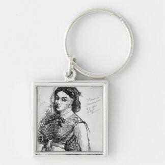 Jeanne Duval 1865 Llavero Personalizado