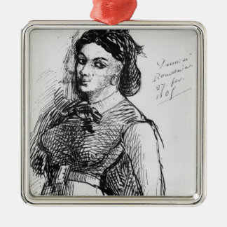 Jeanne Duval, 1865 Metal Ornament