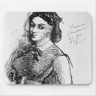 Jeanne Duval, 1865 Mouse Pad