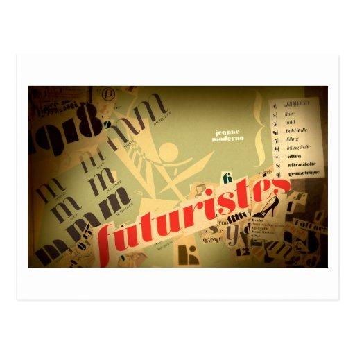 Jeanne: Futuristes Postcard