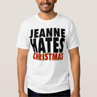 Jeanne Hates Christmas T-Shirt