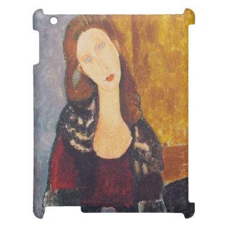 Jeanne Hebuterne portrait by Amedeo Modigliani iPad Covers
