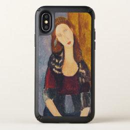 Jeanne Hebuterne portrait by Amedeo Modigliani Speck iPhone X Case