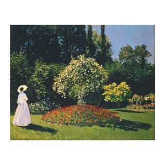Jeanne-Marguerite Lecadre, by Claude Monet Canvas Print