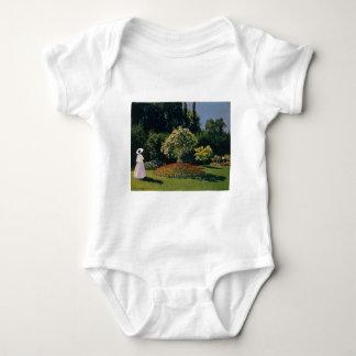 Jeanne-Marguerite Lecadre in the Garden (1866) Baby Bodysuit