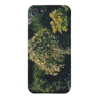 Jeanne-Marguerite Lecadre in the Garden (1866) Case For iPhone SE/5/5s