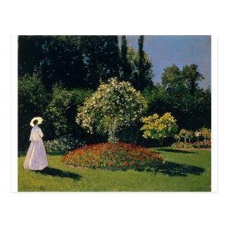 Jeanne-Marguerite Lecadre in the Garden (1866) Postcard