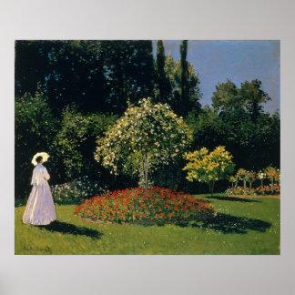 Jeanne-Marguerite Lecadre in the Garden (1866) Poster