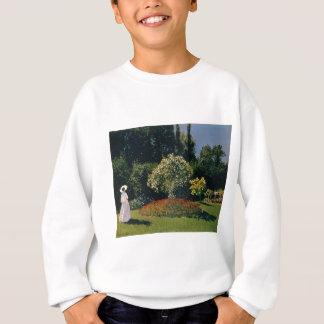 Jeanne-Marguerite Lecadre in the Garden (1866) Sweatshirt