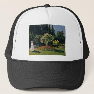 Jeanne-Marguerite Lecadre in the Garden (1866) Trucker Hat