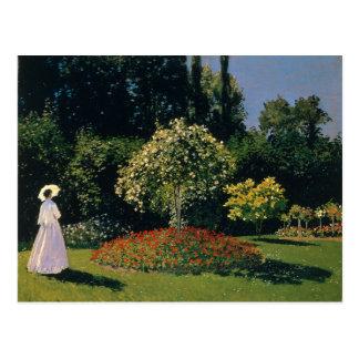 Jeanne-Marguerite Lecadre in the Garden - Monet Postcard