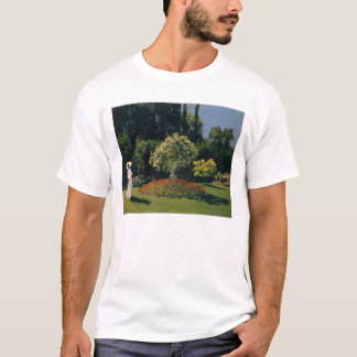Jeanne-Marguerite Lecadre in the Garden - Monet T-Shirt