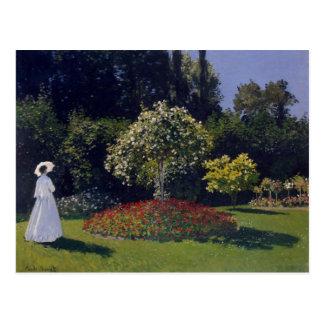 Jeanne-Marguerite Lecadre in the Garden postcard