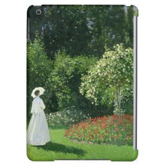 Jeanne Marie Lecadre in the Garden, 1866 iPad Air Cover