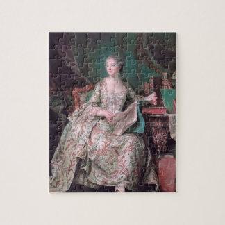Jeanne Poisson, copete del marqués por el viaje de Puzzle