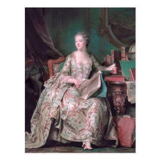Jeanne Poisson, copete del marqués por el viaje de Postal
