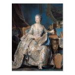 Jeanne Poisson el marqués de Pompadour, 1755 Postales