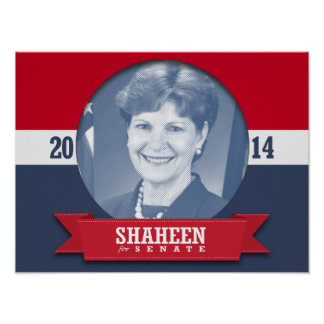 JEANNE SHAHEEN CAMPAIGN POSTER