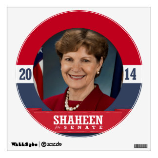 JEANNE SHAHEEN CAMPAIGN WALL GRAPHIC