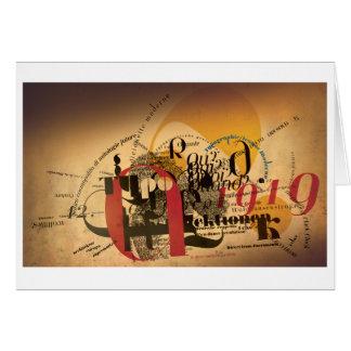 Jeanne: Typo 1919 Card