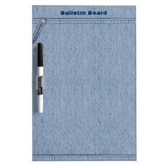 Jeans Board Dry-Erase Whiteboard