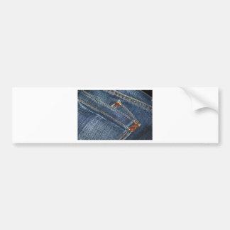Jeans Bumper Sticker