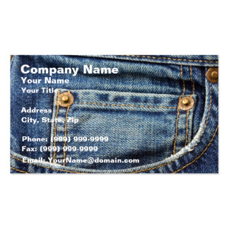 Jeans Business Cards