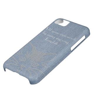 Jeans Cat Case For iPhone 5C