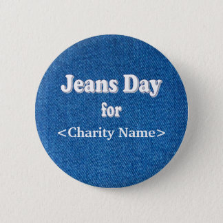 Jeans Day Button