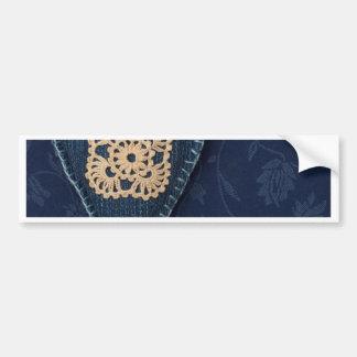 jeans heart bumper sticker