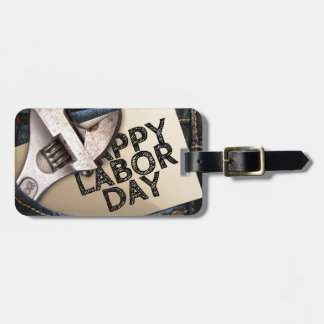 Jeans Luggage Tag