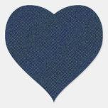 Jeans Pegatina En Forma De Corazón