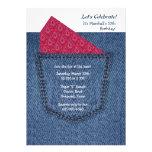 Jeans Pocket Invitation