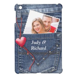 Jeans Pocket Photo iPad Mini Case