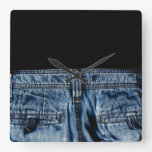 Jeans - SO COOL Square Wall Clock