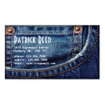 Jeans - Style C Double-Sided Standard Business Cards (Pack Of 100)
