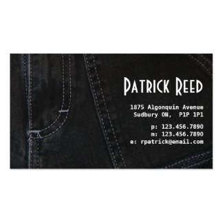 Jeans - Style F Business Card Template