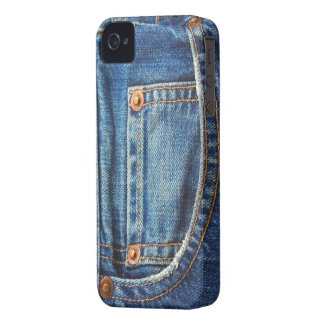 Jeans Texture iPhone 4/4S Case-Mate Barely There Case-Mate iPhone 4 Case
