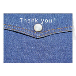 Jeans - Thank You Card