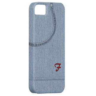 Jeans with Initial iPhone SE/5/5s Case